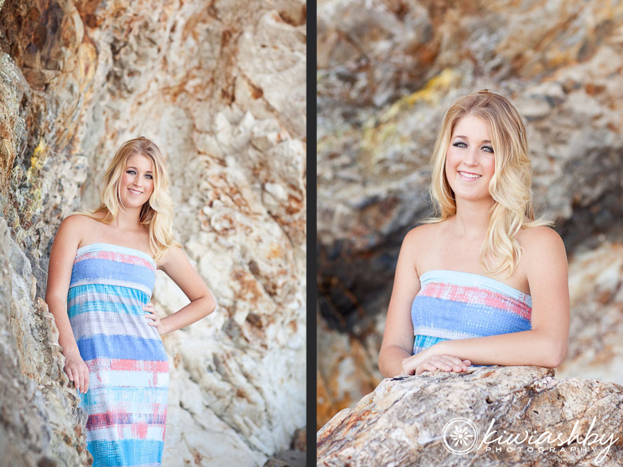 california beach senior pictures