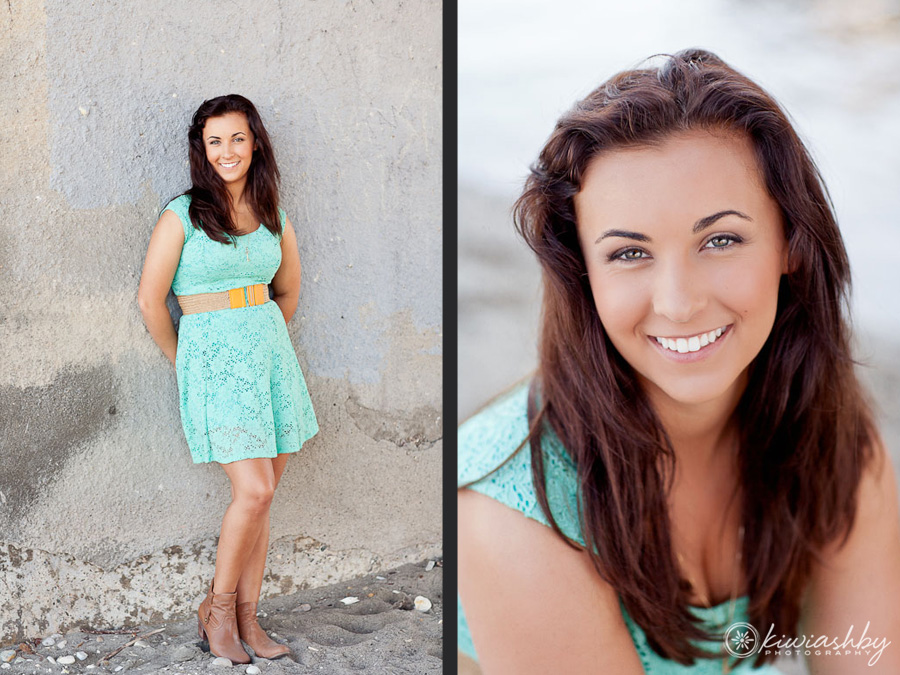 Senior Portraits at the beach