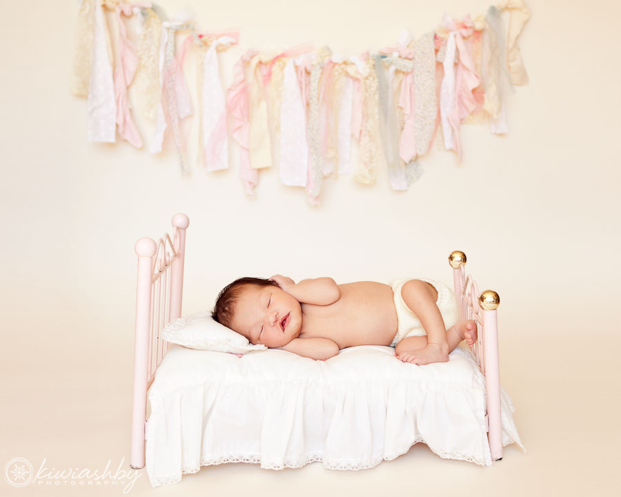 central coast newborn portrait photographer